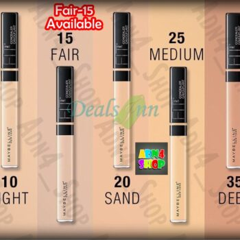 Fit Me Concealer By Maybelline - 15 Sand Shade
