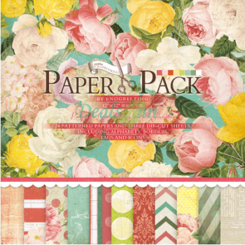ENO Greeting Craft Paper 12 *12 Scrapbooking Paper
