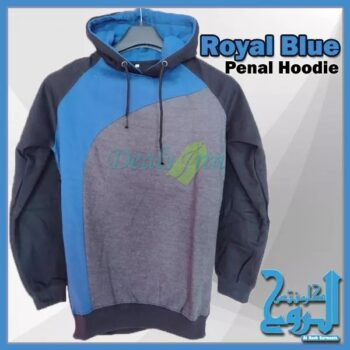 Royal Blue Penal Hoodies