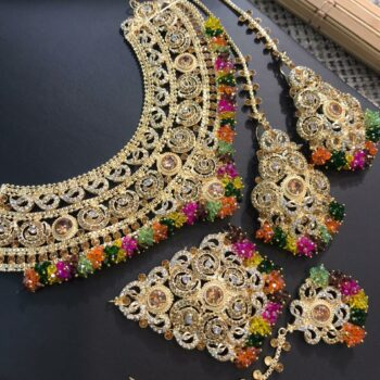 Traditional wear Bridal set Multi