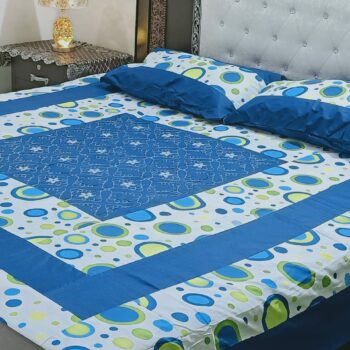 wholesale price Center Panel Full Embroidered Bedsheet