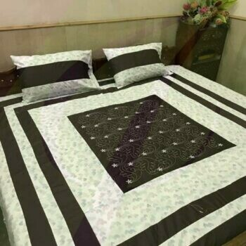 buy embroidered bedsheet with free cod in factory price