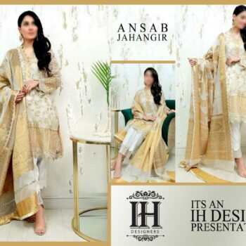 Ansab Jahangir Luxury Collection Master Copy by IH Designers